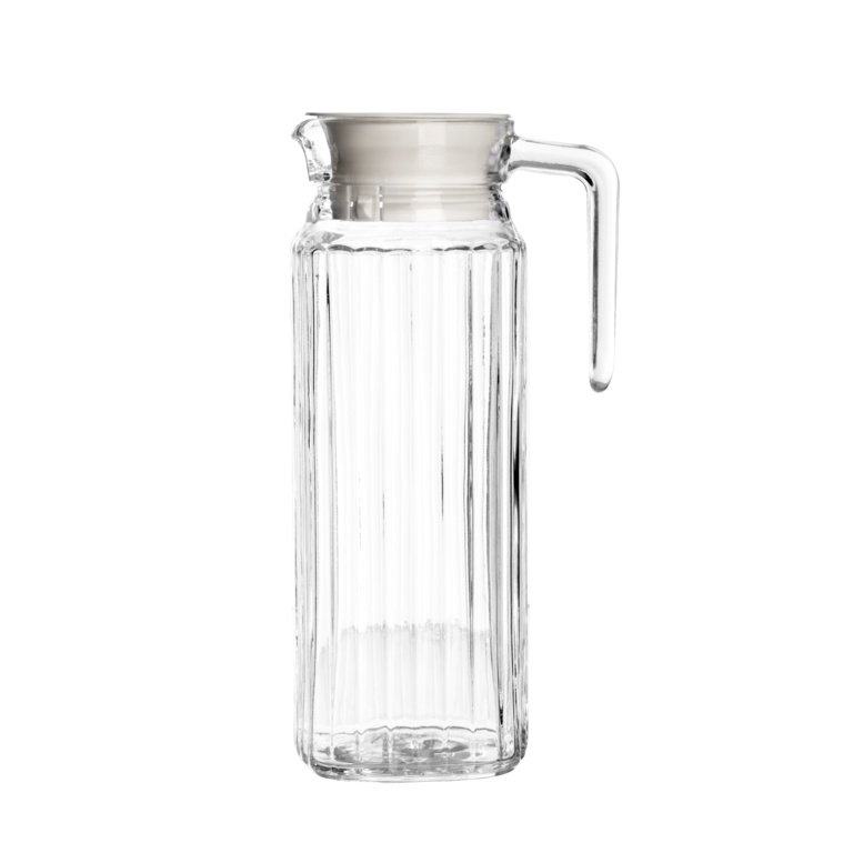 Glass pitcher with lid uk seagull pacific water pitcher with lid 23 litre enquire bormioli - Bobble water pitcher ...