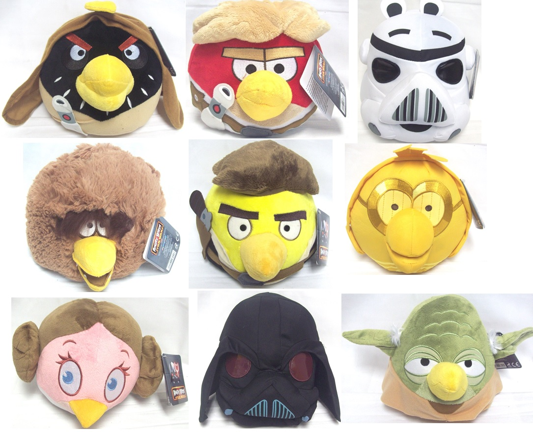 Angry Birds Star Wars 8 Inch Soft Plush Toy Special ...